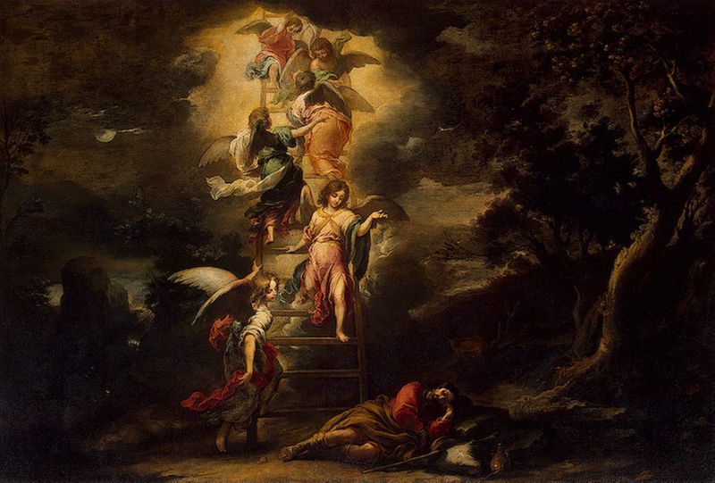 Le songe de Jacob, par Murillo (Source : Wikimedia Commons)