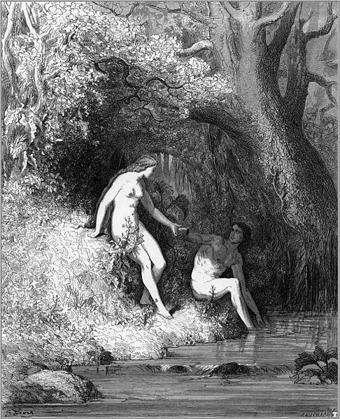 Illustration de Gustave Doré, pour « Le paradis perdu » de John Milton (Source : Wikimedia Commons)