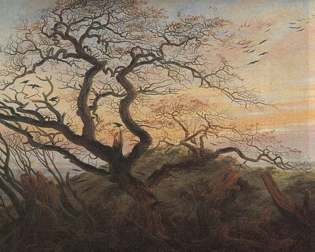 Friedrich, l'arbre aux corbeaux