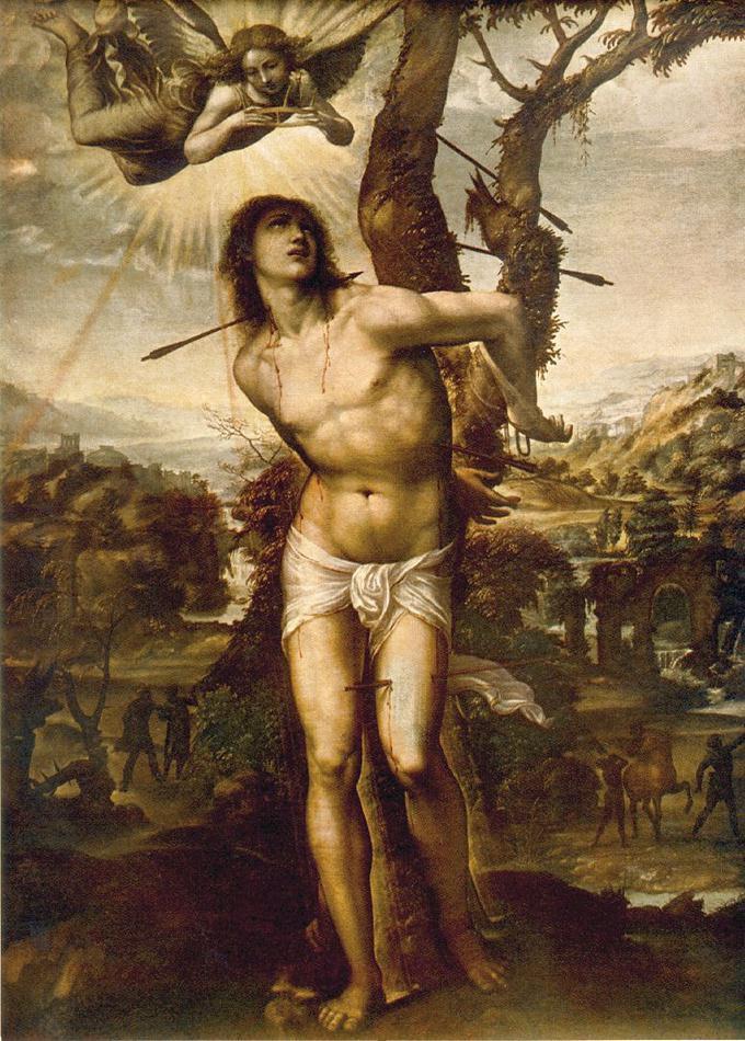 Saint Sébastien par il Sodoma