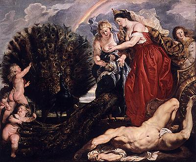 Junon et Argus par Pierre Paul Rubens [Public domain], via Wikimedia Commons